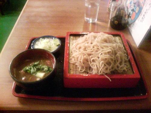 恵比寿「巴屋蕎麦店」