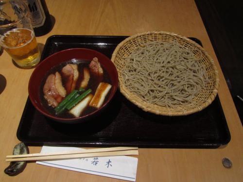 大阪・江戸堀「蕎麦 若木」